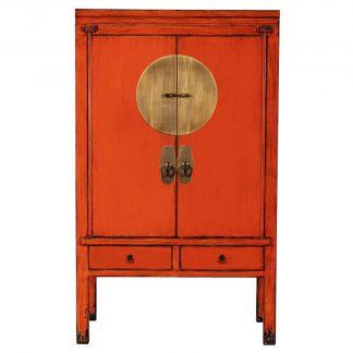Chinese Bruidskast Oranje